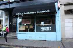 Photograph of Parkers Barber Shop
