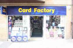 Photograph of Card Factory