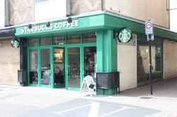 Photograph of Starbucks