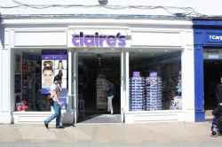 Photograph of Claire's