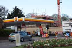 Photograph of Shell Station
