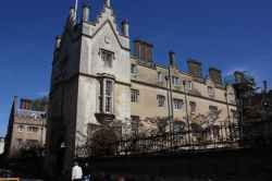 Photograph of Sidney Sussex College