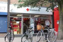 Photograph of British Red Cross