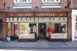 Photograph of Arthur Shepherd