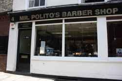 Photograph of Mr Politos Barber Shop