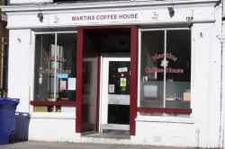 Photograph of Martins Coffee House