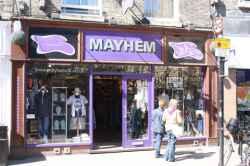 Photograph of Mayhem