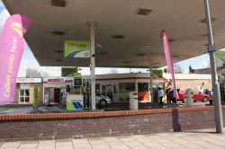 Photograph of BP Service Station