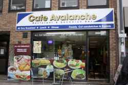 Photograph of Cafe Avalanche