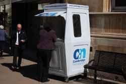 Photograph of Cambridge News Kiosk