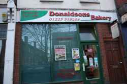 Photograph of Donaldsons Bakery
