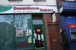 Photograph of Donaldsons Bakery