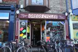 Photograph of Gregs Cycles