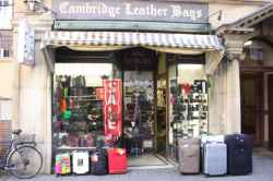 Photograph of Cambridge Leather Bags